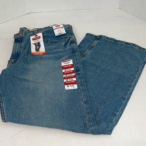 New Wrangler Relaxed Flex Boot Jeans 38x30